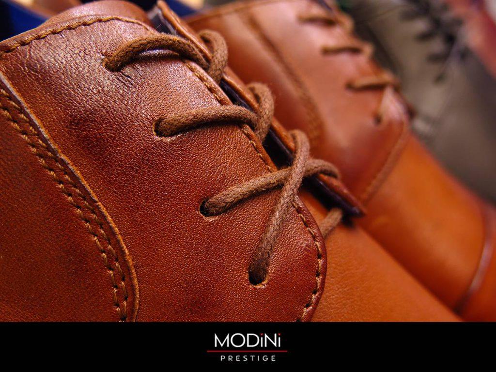Modne męskie buty skórzane